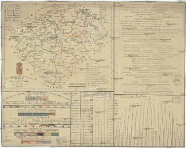 Historisch-geographisch-statistisch-gefaellsaemtliche Karte von Königreiche Böhmen