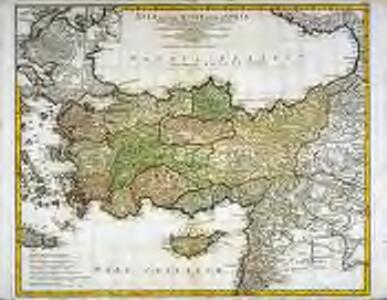 Asiæ quæ vulgo minor dicitur et Syriæ tabula geographica