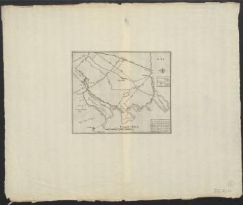 Accurate kaart van Assendelft : daar in men sien kan waar de dijken sijn ingebrooken, door de hoogewater-vloet, den 25 December 1717