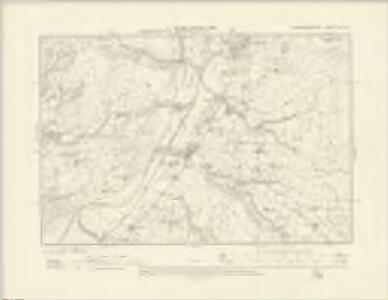 Montgomeryshire XIX.SE - OS Six-Inch Map