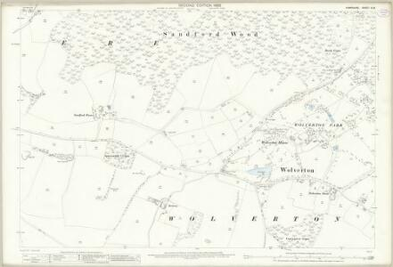 Hampshire and Isle of Wight IX.8 (includes: Baughurst; Kingsclere) - 25 Inch Map