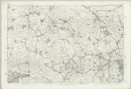 Cheshire LIV - OS Six-Inch Map