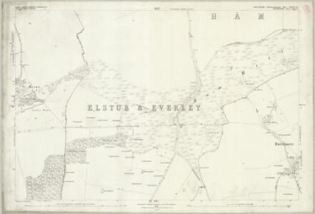 Wiltshire XXXVII.15 (includes: Buttermere; Ham; Shalbourne) - 25 Inch Map