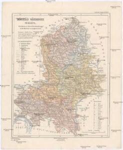 Nográd vármegye térképe