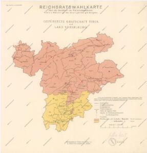 Reichsratwahlkarte