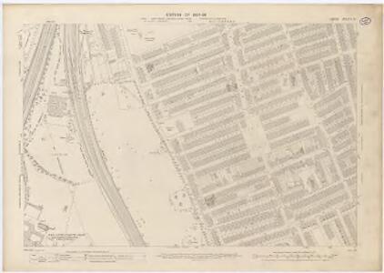 London X.70 - OS London Town Plan