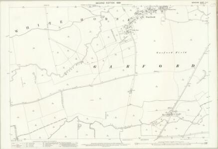 Berkshire IX.11 (includes: East Hanney; Frilford; Fyfield; Garford) - 25 Inch Map