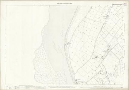 Cumberland XXVII.14 (includes: Holme St Cuthbert) - 25 Inch Map