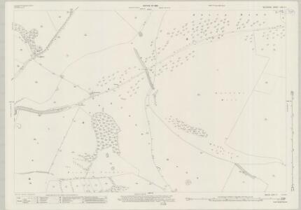 Wiltshire LXIX.11 (includes: Alvediston; Ansty; Berwick St John; Donhead St Andrew) - 25 Inch Map