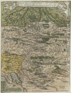 Rhetiae alpestris descriptio, in qua hodie Tirolis Comitatvs