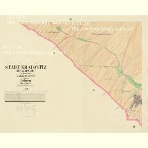 Kralowitz (Kralowice) - c3494-1-008 - Kaiserpflichtexemplar der Landkarten des stabilen Katasters