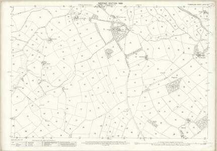 Cumberland LXXVIII.10 (includes: Gosforth) - 25 Inch Map