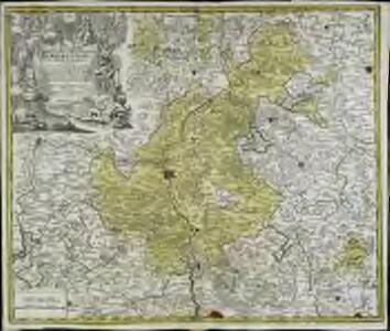 Sac. Rom. Imperii principatus [et] episcopatus Bambergensis nova tabula geographica