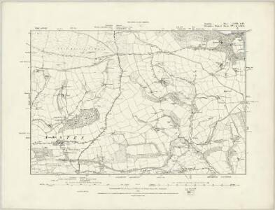 Somerset LXVII.SE - OS Six-Inch Map