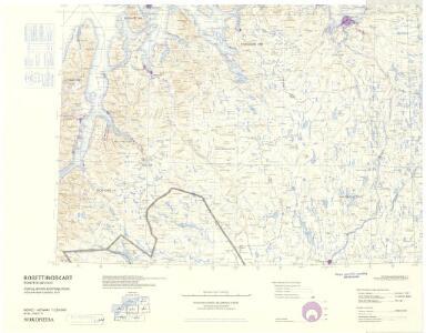 Statistikk 43-27- Bosettingskart over Nordreisa. Blad 27