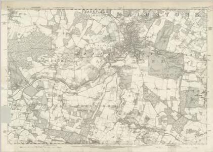 Kent XLII - OS Six-Inch Map
