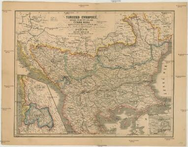 Turecko evropské, Srbsko, Multany a Valachie, Černá Hora a pohraničné [sic] země rakouské