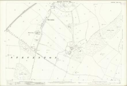 Hampshire and Isle of Wight XXV.4 (includes: North Waltham; Overton; Steventon) - 25 Inch Map