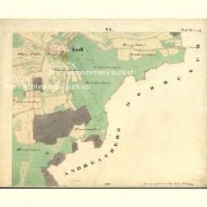 Tisch - c3678-1-010 - Kaiserpflichtexemplar der Landkarten des stabilen Katasters