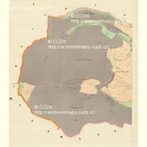 Radnitz (Radnice) - m2519-1-001 - Kaiserpflichtexemplar der Landkarten des stabilen Katasters
