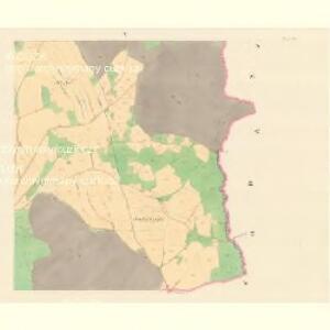 Dohle (Dalow) - m0412-1-005 - Kaiserpflichtexemplar der Landkarten des stabilen Katasters