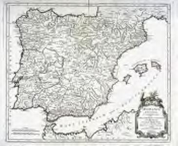 Hispania antiqua in tres præcipuas partes