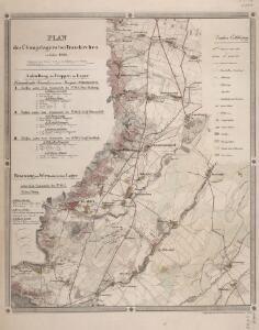 Plan des Übungslagers bei Traiskirchen im Jahre 1828