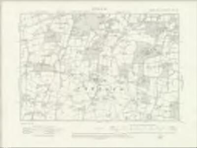 Sussex XXV.SW - OS Six-Inch Map
