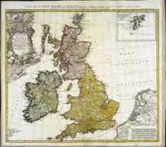 Regnorvm Magnae Britanniæ et Hiberniae mappa geographica
