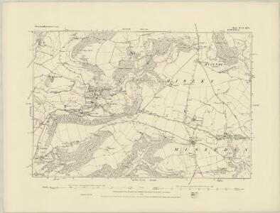 Gloucestershire XL.SW - OS Six-Inch Map