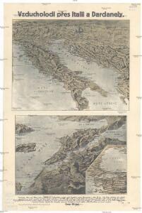 Vzducholodí přes Italii a Dardanely