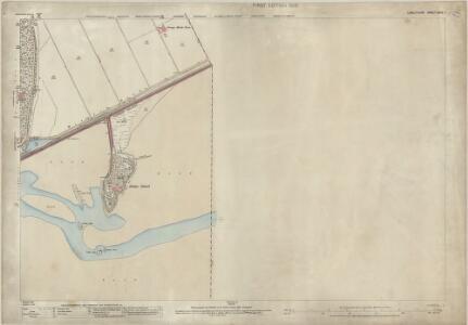 Lancashire XVIII.1 (includes: Arnside; Grange; Meathop And Ulpha) - 25 Inch Map