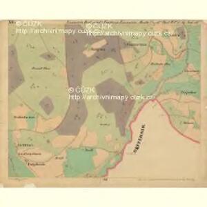 Eisenstein Dorf - c7755-2-015 - Kaiserpflichtexemplar der Landkarten des stabilen Katasters
