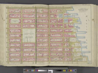 Manhattan, Double Page Plate No. 12 [Map bounded by E. 14th St., East River, E. 3rd St., 1st Ave.]