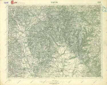 III. vojenské mapování 4058