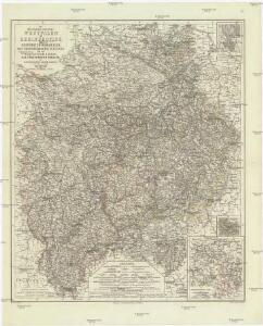 Die preussischen Provinzen Westphalen und Rheinprovinz, das Kurfürstenthum Hessen, das Grossherzogthum Hessen und das Herzogthum Nassau, das Fürstenthum Waldeck, die Landgrafschaft Hessen Homburg und die freie Stadt Frankfurt