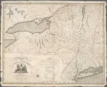 A map of the State of New York / by Simeon De Witt, Surveyor General.