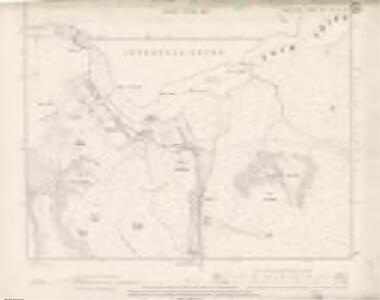 Argyll and Bute Sheet XVI.NE & SE - OS 6 Inch map