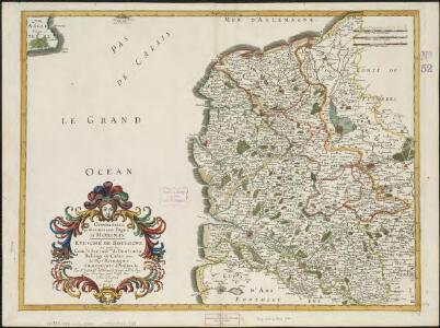 Oromansaci, et Gesoriacus Pagus in Morinis, evesché de Boulogne ou sont les Comté et seneschaussée de Boulenois : Balliage de Calais dans le Pays Reconquis : Souveraineté d'Ardres, etc.