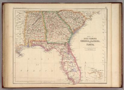 States Of South Carolina, Georgia, Alabama, And Florida.