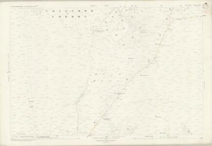 Devon XCIX.4 (includes: Chagford; Lydford; North Bovey) - 25 Inch Map