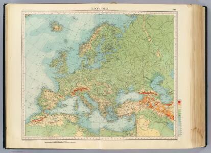 11-12. Europa fisica.