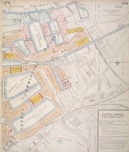 Insurance Plan of London Vol. VII: sheet 173