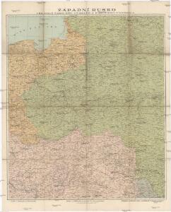 Západní Rusko a přilehlé části říše Německé a Rakousko-Uherska