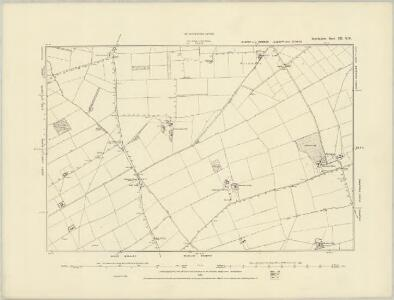 Lincolnshire XII.SE - OS Six-Inch Map