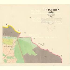 Betschitz - c0085-1-003 - Kaiserpflichtexemplar der Landkarten des stabilen Katasters