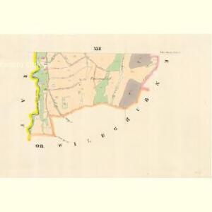 Klein Mohrau - m1688-1-018 - Kaiserpflichtexemplar der Landkarten des stabilen Katasters