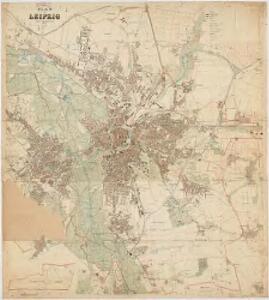 Plan von Leipzig : 1912