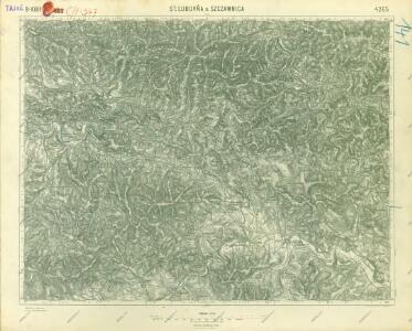 III. vojenské mapování 4265