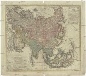 Asia secundum legitimas projectionis stereographicae regulas